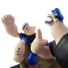 Popeye e Brutos no barco