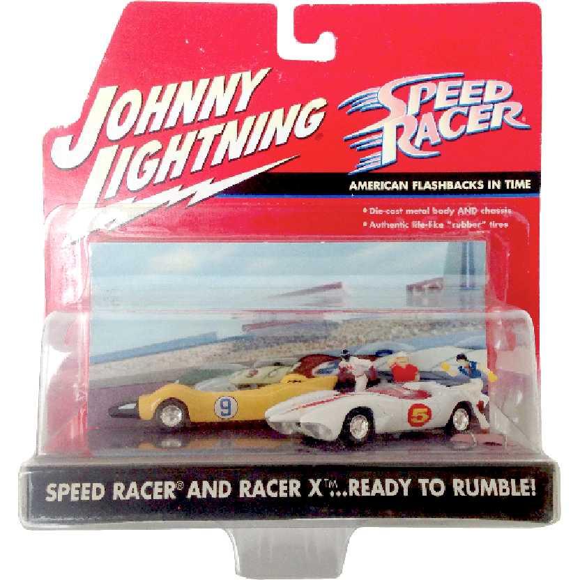 Pops Racer + Speed Racer + Corredor X + Mach 5 + Shooting Star Johnny lightning 1/64