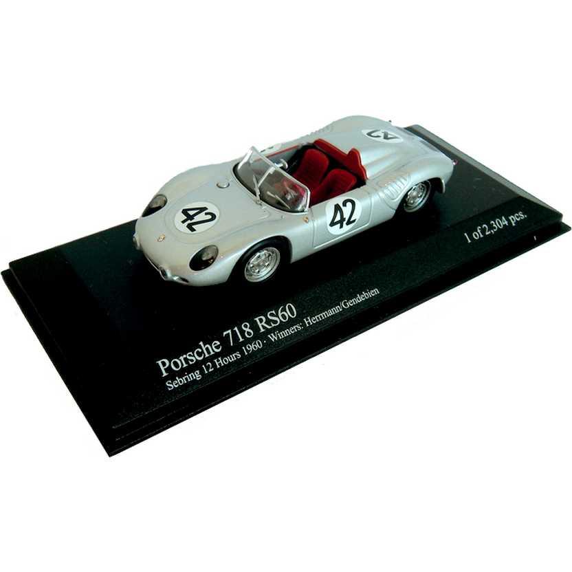 Porsche 718 RS60 Sebring 12h Winner (1960) marca Minichamps escala 1/43