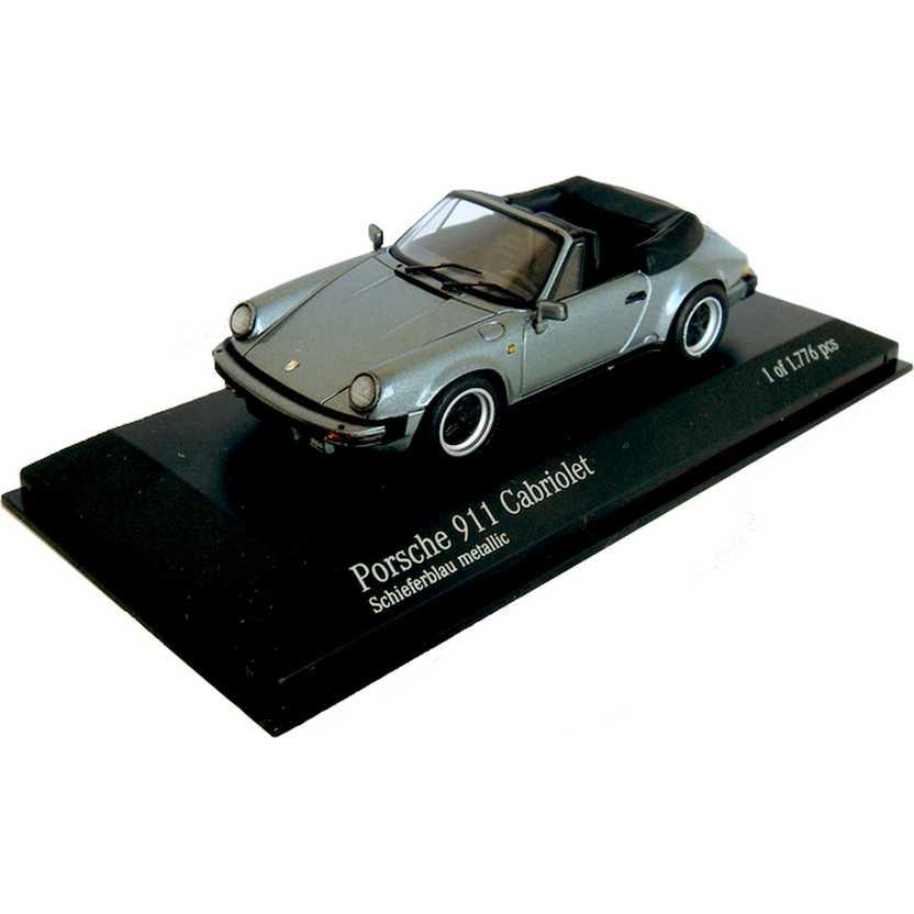 Porsche 911 Carrera Cabriolet / Conversível (1983) marca Minichamps escala 1/43