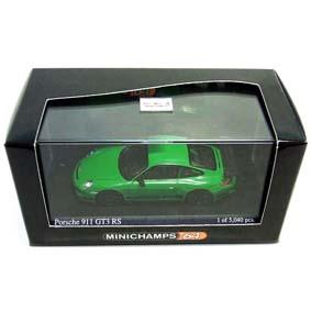 Porsche 911 GT3 RS ( 2006 ) Minichamps escala 1/64 640066000