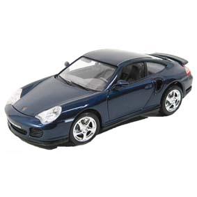 Porsche 911 Turbo (1999) 996 da Bburago escala 1/18