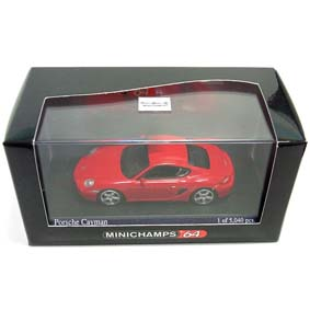Porsche Cayman ( 2005 ) Minichamps escala 1/64 640065620