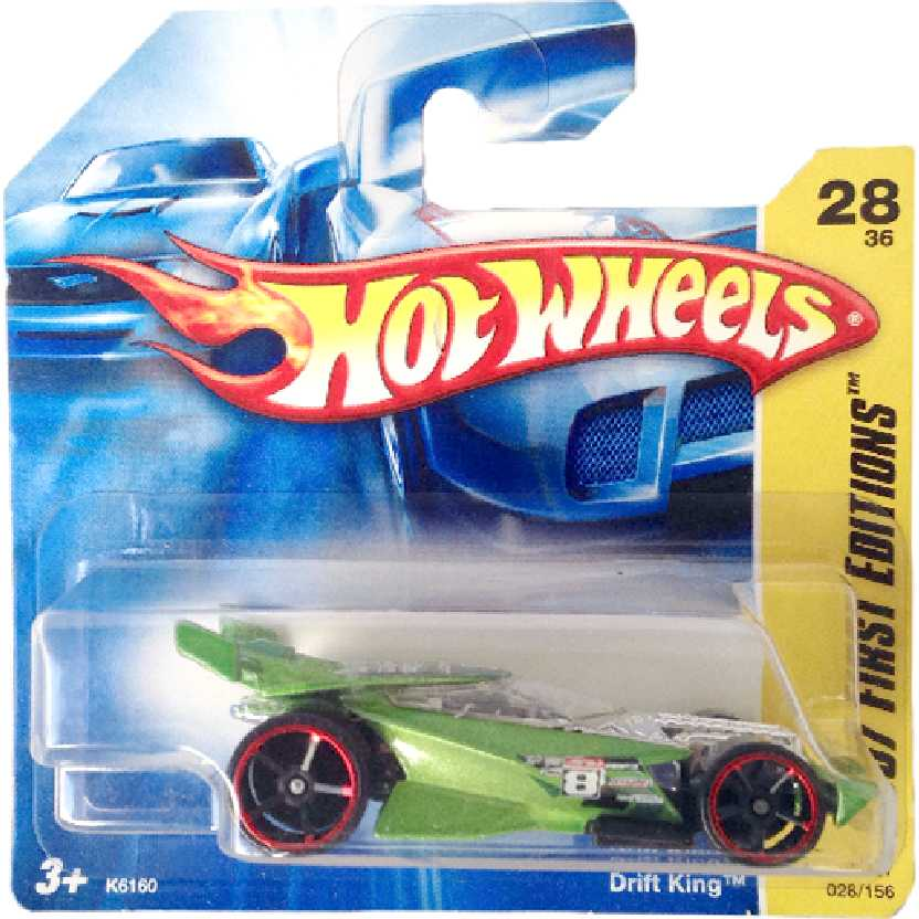 Poster 2007 Hot Wheels Drifit King series 28/36 028/156 K6160 escala 1/64