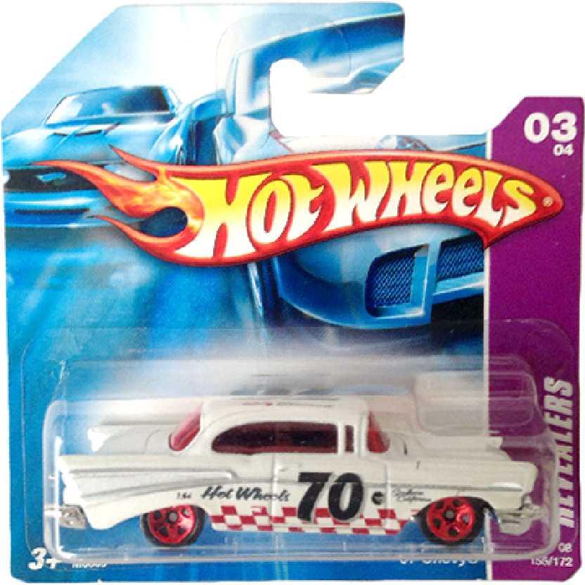Poster 2008 Hot Wheels 57 Chevy series 03/04 155/172 M6869 escala 1/64