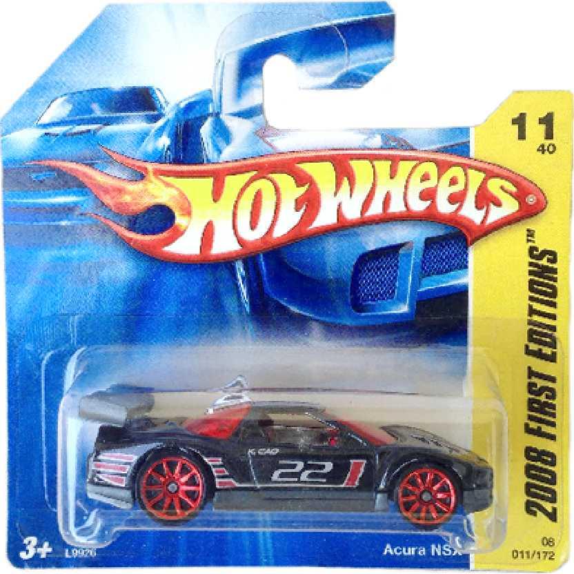 Poster 2008 Hot Wheels Acura NSX series 11/40 011/172 L9926 escala 1/64