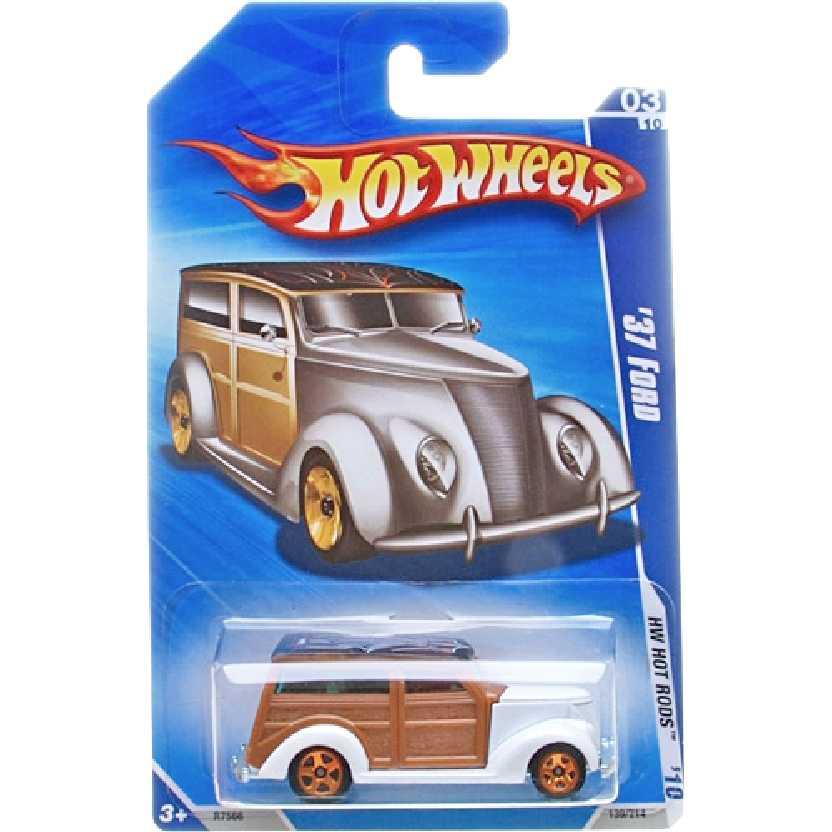 Poster 2010 Hot Wheels 37 Ford series 03/10 139/214 R7566 escala 1/64
