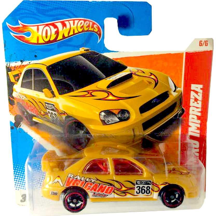Poster 2011 Hot Wheels Subaru Imprenza series 6/6 204/244 T9911 escala 1/64 (Raridade)