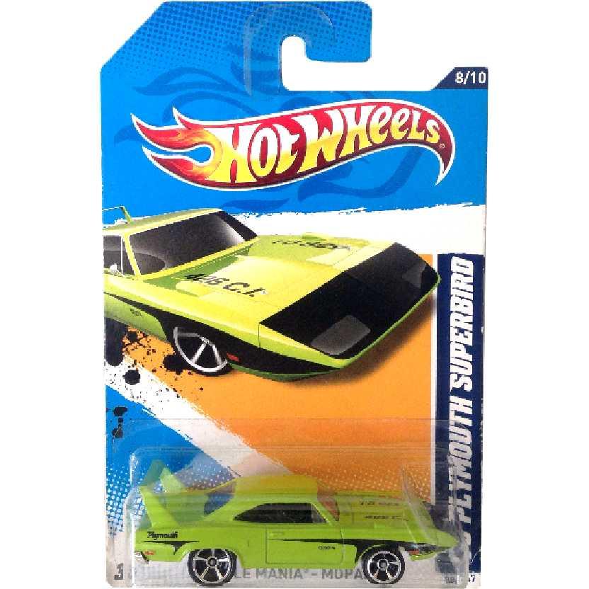 Poster 2012 Hot Wheels 70 Plymouth Superbird series 8/10 88/247 V5627 escala 1/64