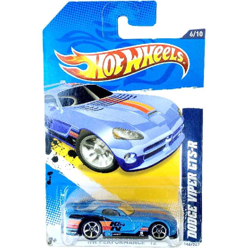 Poster 2012 Hot Wheels Dodge Viper GTS-R series 6/10 146/247 V5642 escala 1/64