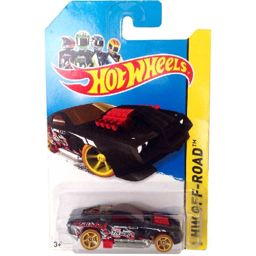 Poster 2014 Hot Wheels Hollowback series 109/250 BFD00 escala 1/64