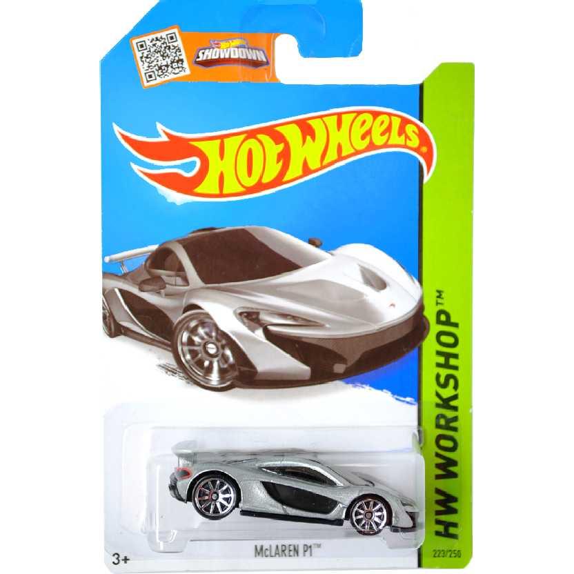 Poster 2015 Hot Wheels McLaren P1 CFL29 serie 223/250 escala 1/64