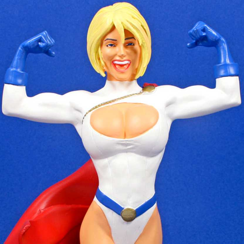 Power Girl bust ( Adam Hughes ) Women of the DC Universe series 1 DC Direct/DC Comics Statue