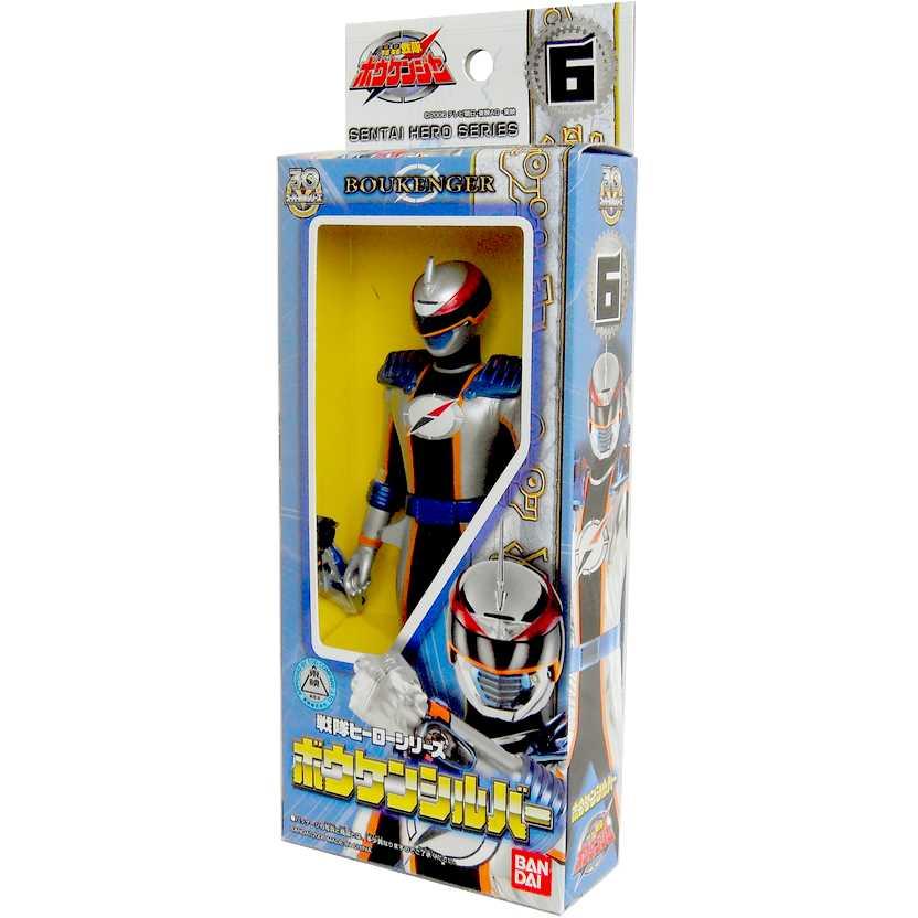 Power Rangers Operation Overdrive Mercury Ranger Gougou Sentai Boukenger Silver Bandai