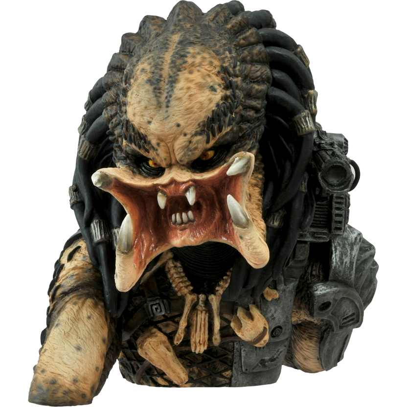 Predador (Cofre) Predator Unmasked Vinyl Bust Bank Statue marca Diamond Select Toys