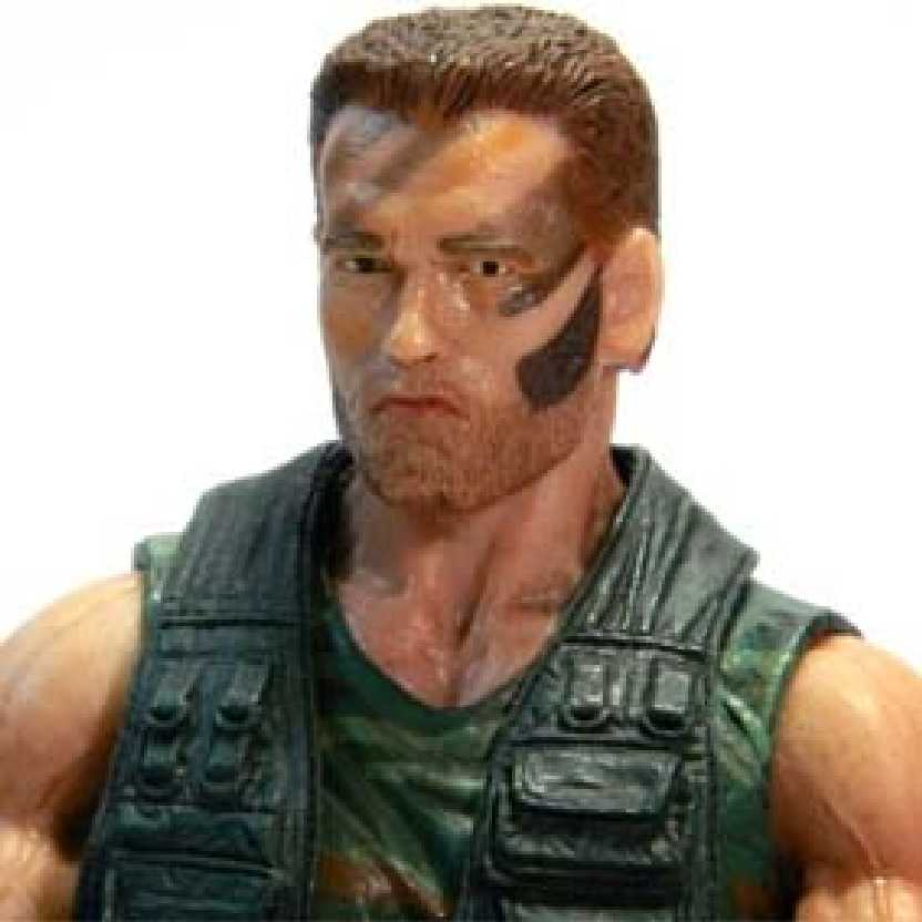 Predador: Jungle Patrol Dutch (Arnold Schwarzenegger) Neca Predators series 8 (ABERTO)