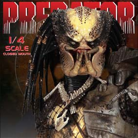 Predadores Neca Toys Escala 1/4 Predator Unmasked Version Action Figures