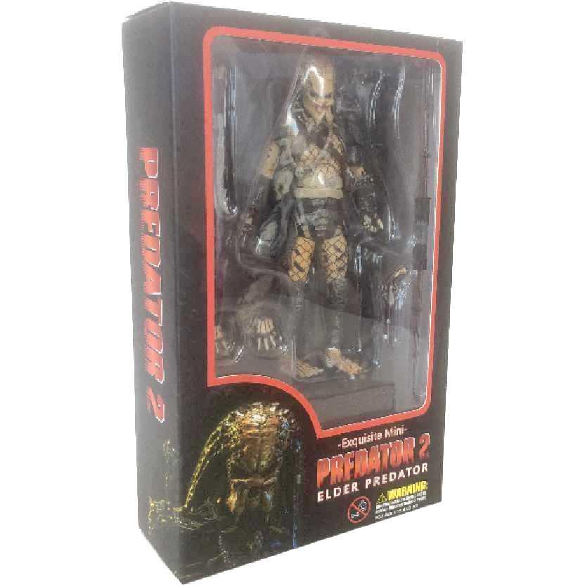 Predator 2 Elder Predador II Exquisite Mini Hiya Toys escala 1/18