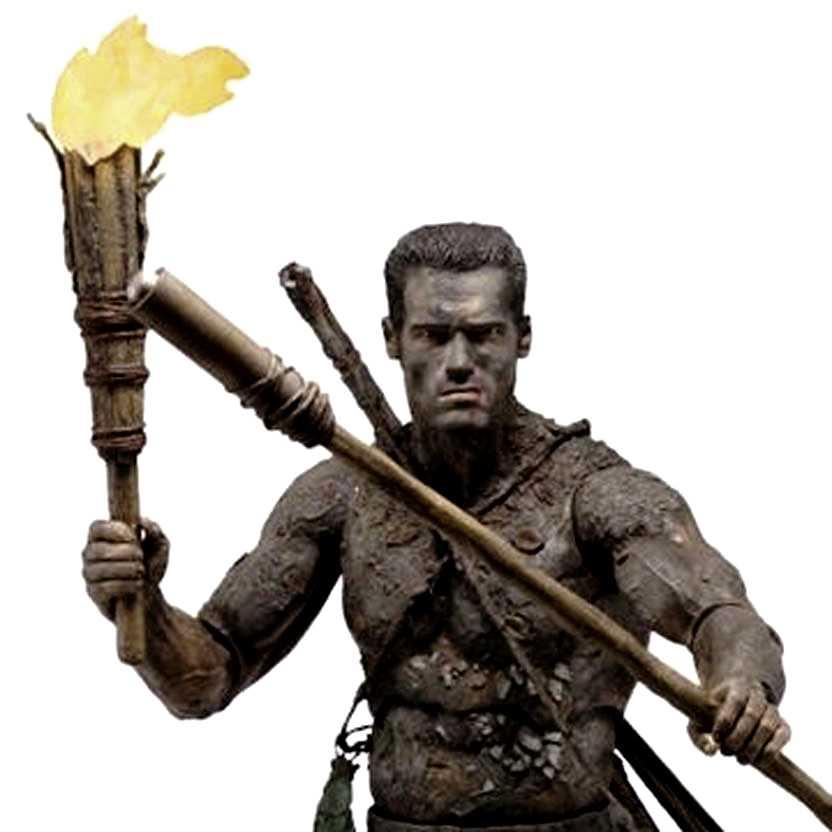 Predator: Jungle Disguise Dutch (Arnold Schwarzenegger) Predador Neca (ABERTO)