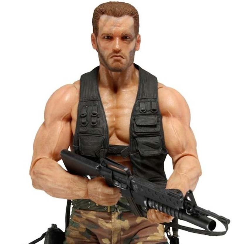 Predator Neca series 9 Jungle Encounter Dutch ( Arnold Schwarzenegger ) Predador
