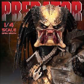 Predators Action Figures :: Predadores da Neca Toys escala 1/4 Predador Boca Grande