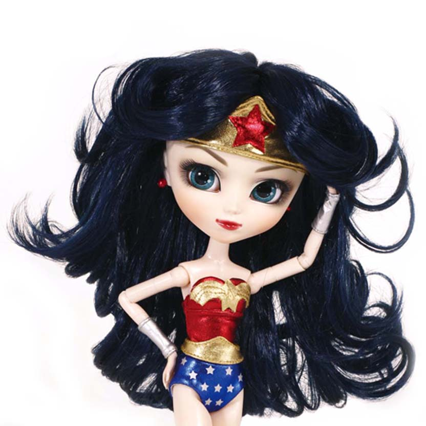 Pullip Wonder Woman ( Mulher Maravilha ) Groove / DC Comics San Diego Comic Con 2012