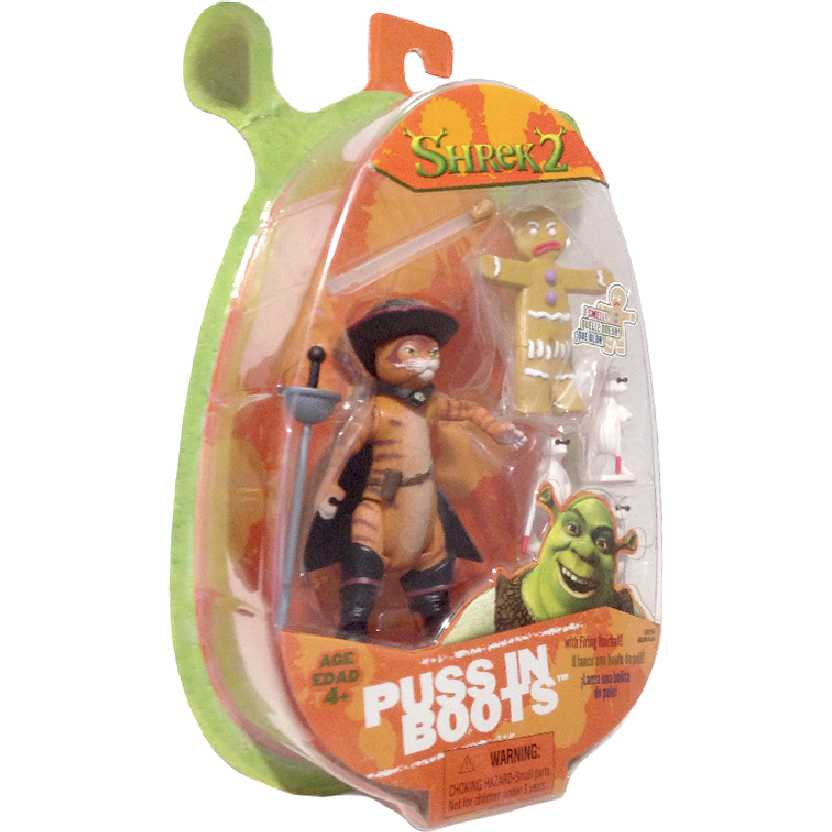 Puss N Boots / Gato de Botas (Shrek 2) Hasbro action figures