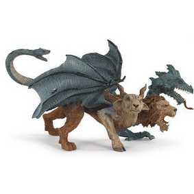 Quimera criatura da Mitologia Grega (801429) Mythical Realms Chimera