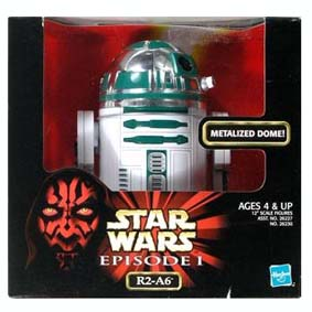 R2-A6 Metalized Dome (escala de bonecos 12 polegadas)