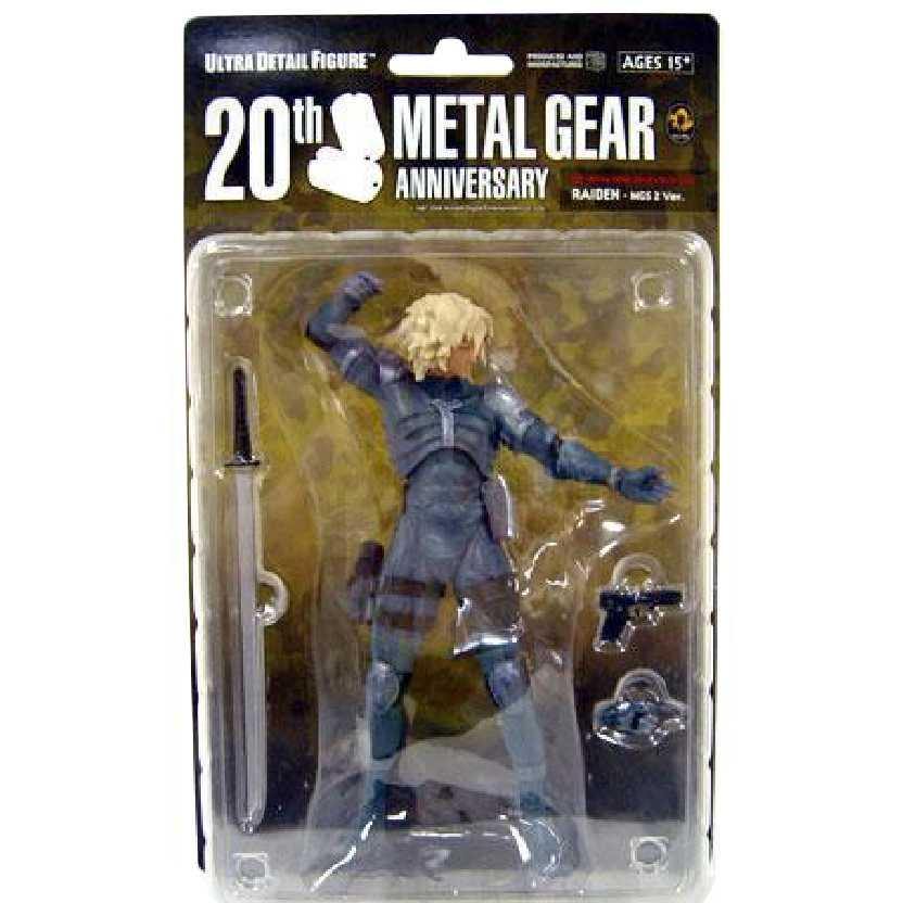 Raiden Metal Gear Solid 2 MGS 2 20th Anniversary marca Medicom action figures