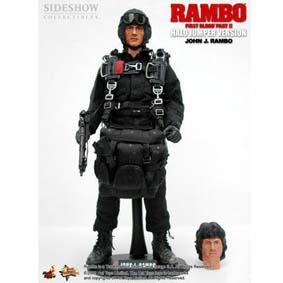 Rambo Halo Jumper Bonecos Hot Toys Limited no Brasil