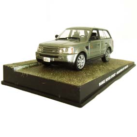 Range Rover Sport escala 1/43 James Bond 007 Quantum of Solace