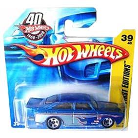 Raridade do Poster Hot Wheels 2008 VW Fastback (1965) L9954 series 039/172