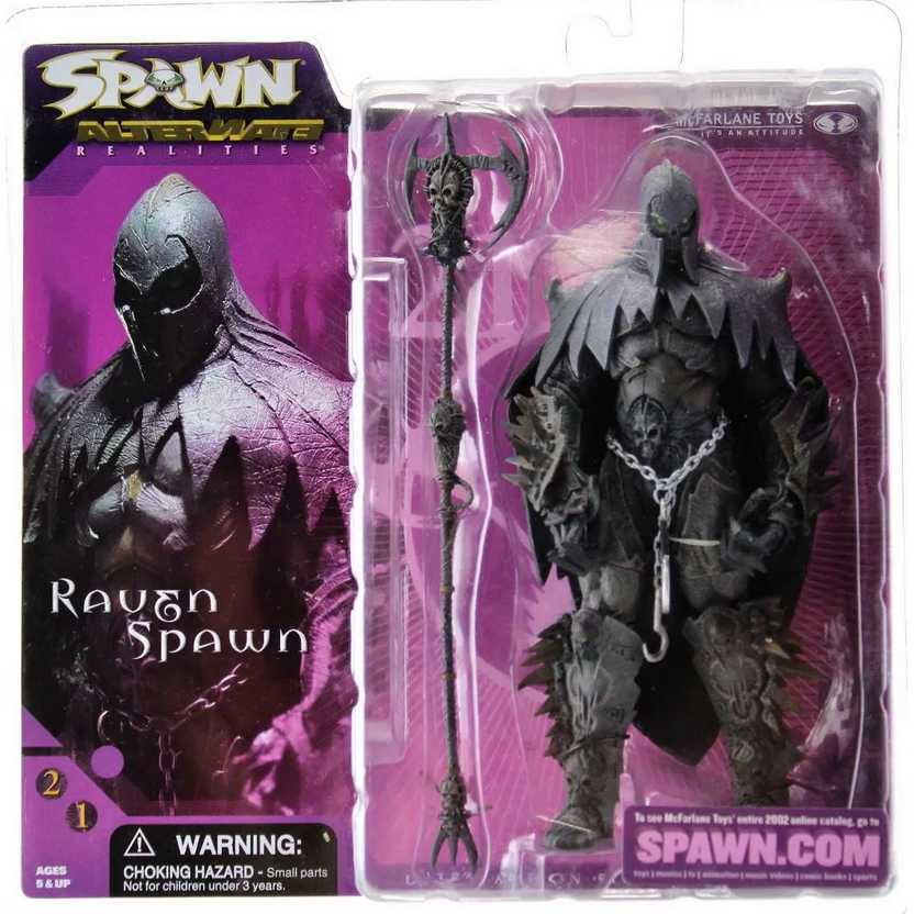 Raven Spawn (série 21) marca McFarlane action figures