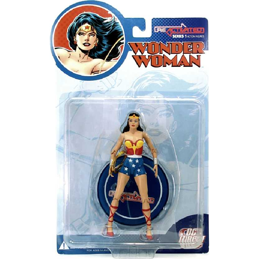 Reactivated Wonder Woman - Mulher Maravilha (série 1) DC Direct Action Figures