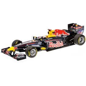 Red Bull Racing RB7 Renault Sebastian Vettel Campeão Mundial (2011) escala 1/18