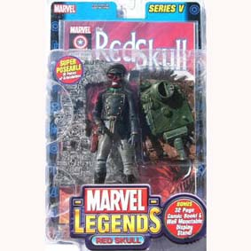 Red Skull Marvel Legends 5