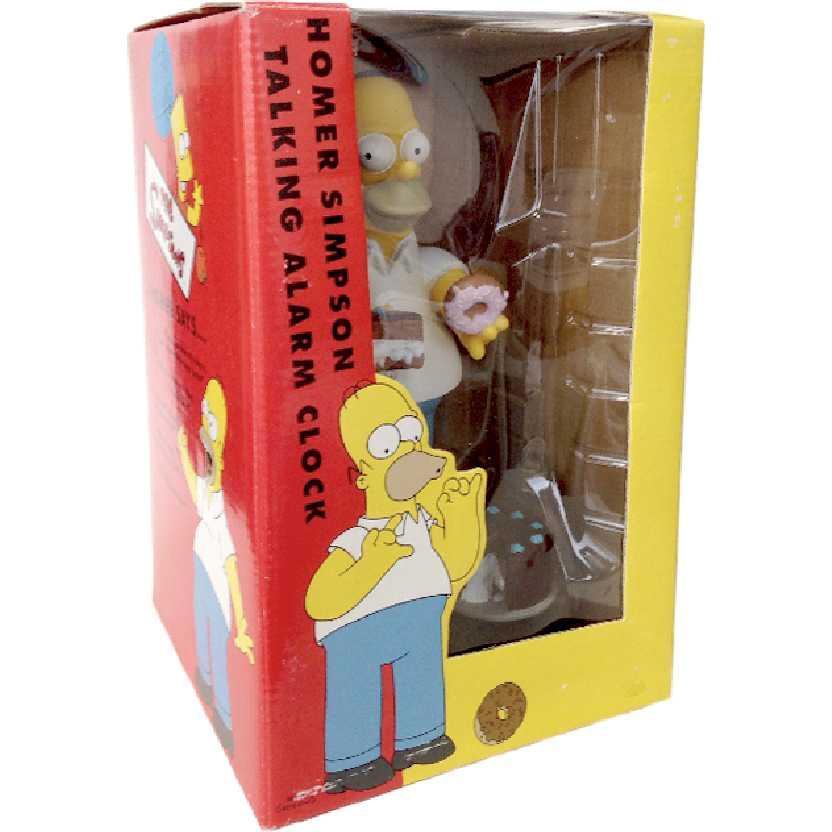 Relógio e Alarme The Simpsons Homer Simpson Talking Alarm Clock (fala 5 frases)