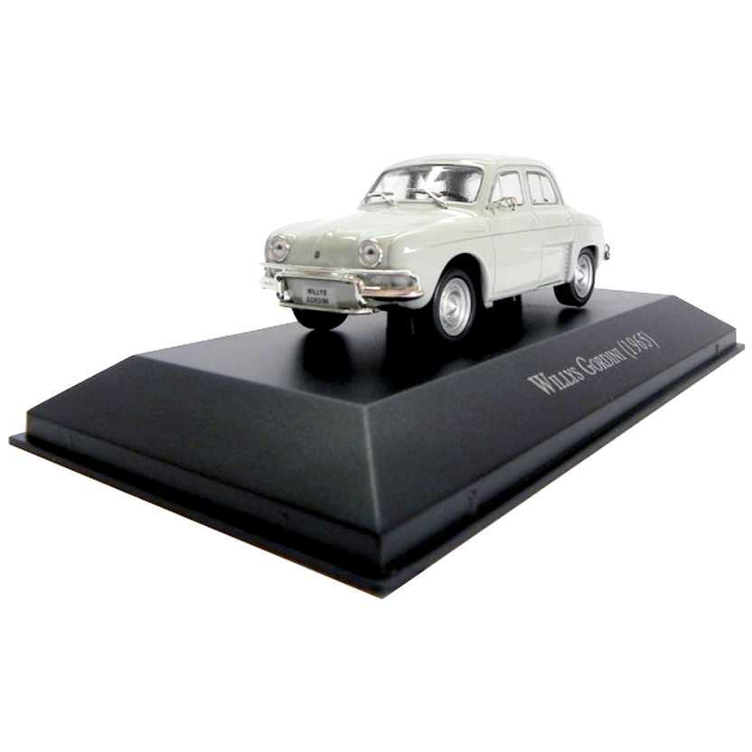 Renault Willys Gordini 1965 Coleção Carros Inesquecíveis Do Brasil escala 1/43