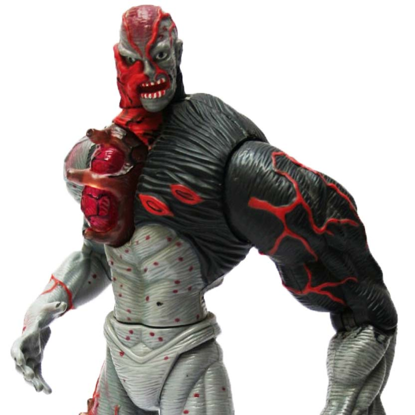 Resident Evil Tyrant with super splash action Toy Biz Series 1 action figure