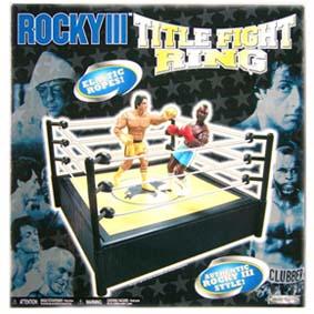 Ring de Boxe para Bonecos (Rocky III)
