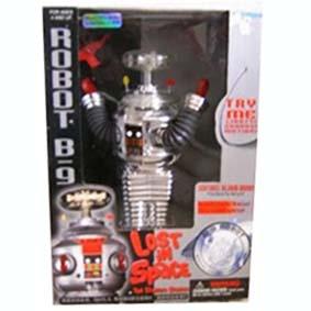 Robô B-9 Cromado (1997) Collectors Edition