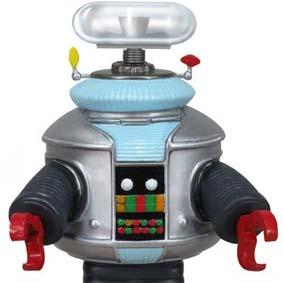 Robô B-9 Perdidos no Espaço Funko Wacky Wobbler Bobble Head que fala 3 frases