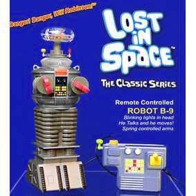 Robô B9 com controle remoto Robot B-9 do Seriado Perdidos no Espaço