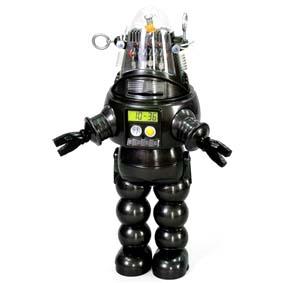 Robby The Robot Bank (Cofre/relógio/com som)