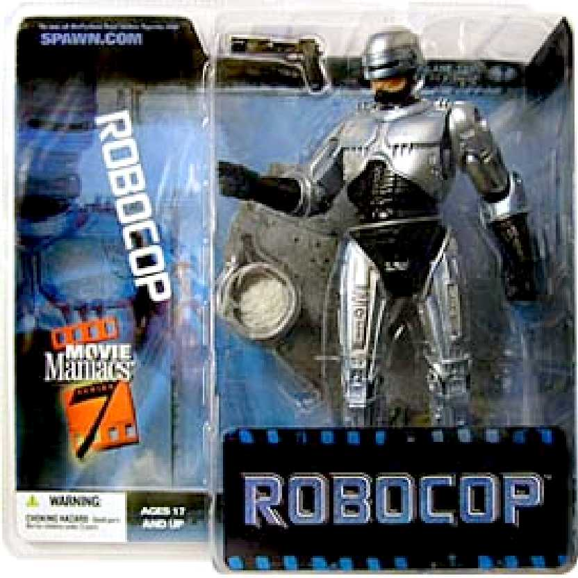 Robocop (Movie Maniacs series 7) marca Mcfarlane Toys action figures