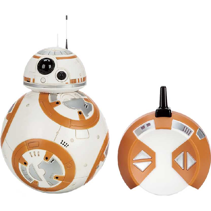 Robô BB-8 com controle remoto The Force Awakens Remote Control Deluxe BB8