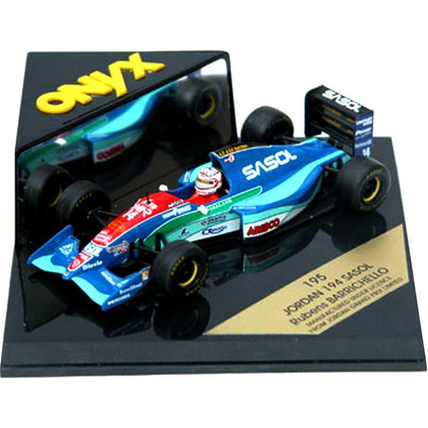 Rubens Barrichello Jordan 194 Sasol / Arisco (1994) - Onyx escala 1/43