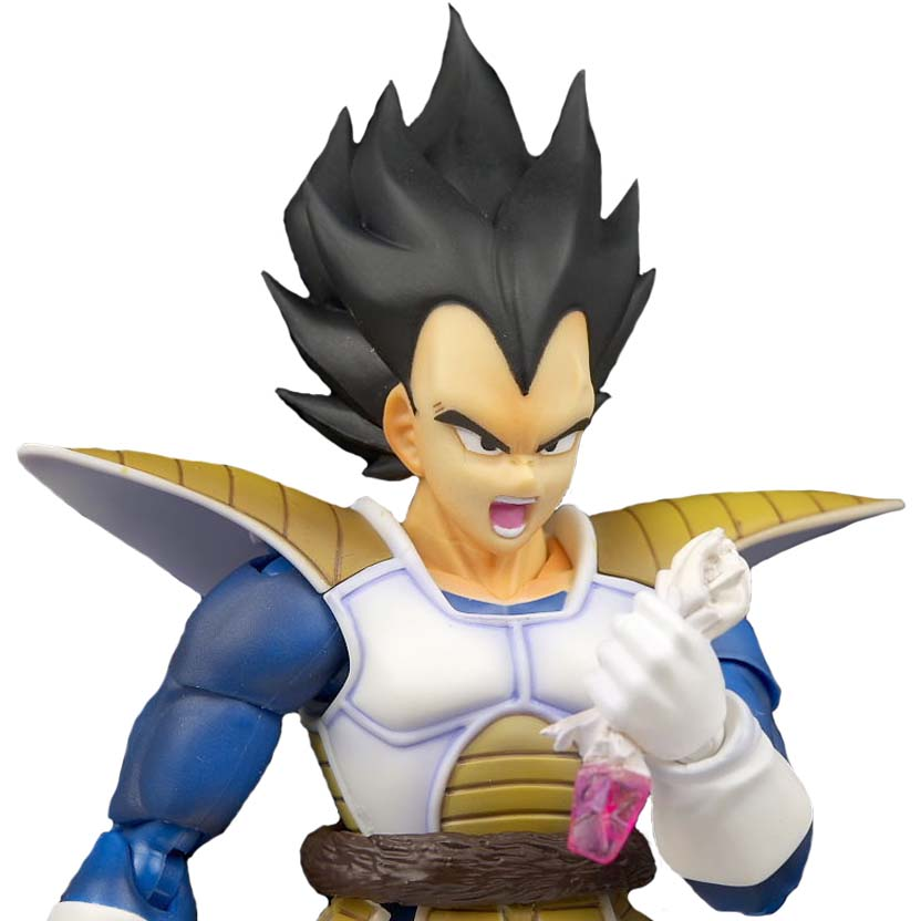 S. H. Figuarts Vegeta Dragon Ball Z : Bandai Action Figure (bonecos DBZ articulados)