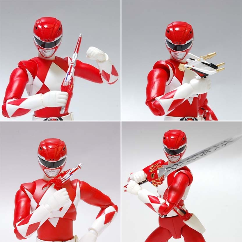 S.H.Figuarts Power Rangers Red Ranger - Tyranno Ranger Bandai Action Figure